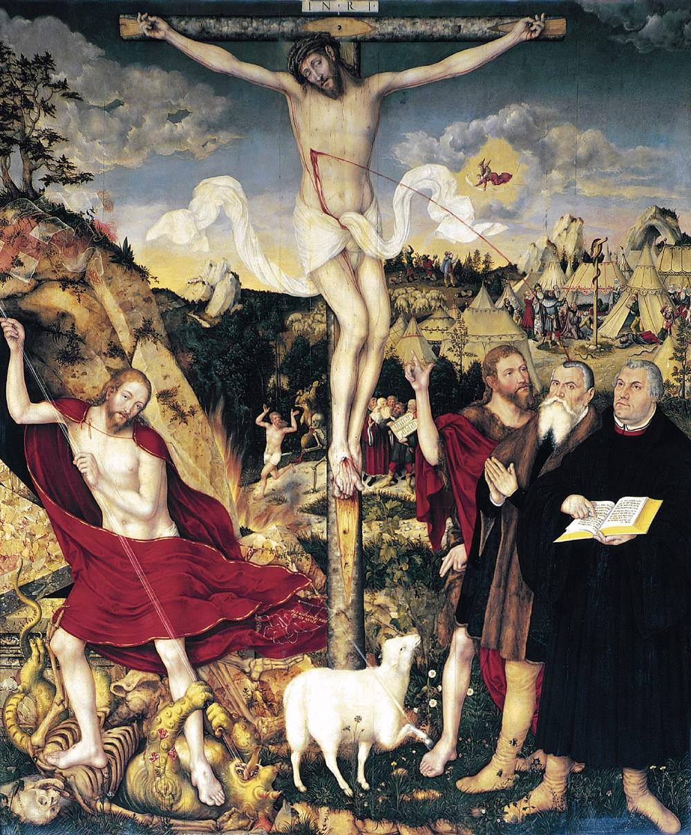 Herderkirche Weimar Cranach Altarpiece