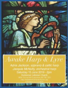Awake Harp & Lyre Concert @ Redeemer Lutheran Church